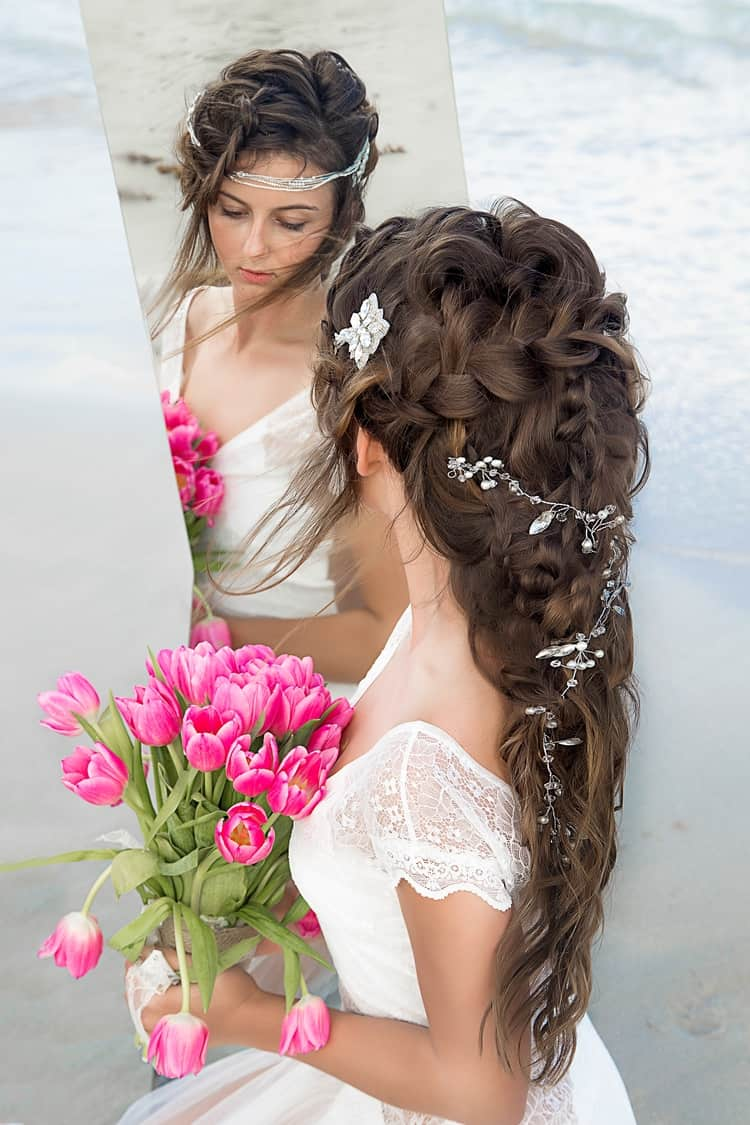 boho beach wedding hair inspiration 9