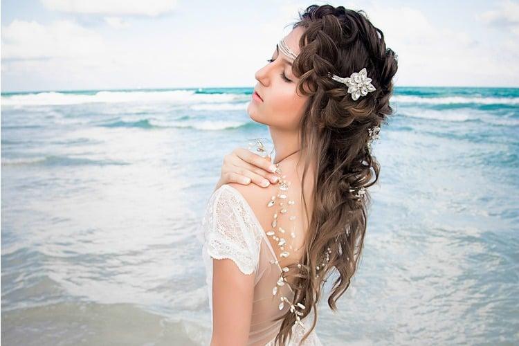 Beach Boho Wedding Hair Inspiration