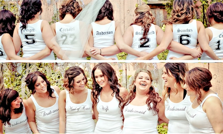 fun destination wedding bridesmaid gifts
