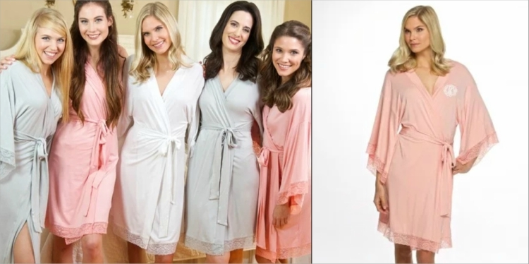 robe destination wedding bridesmaid gifts