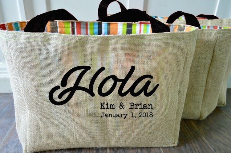 30 destination wedding bridesmaid gifts