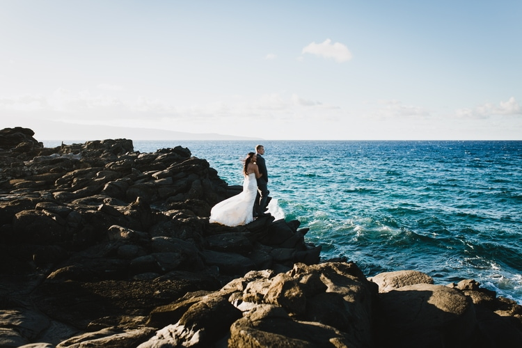 cliffside beach wedding 3