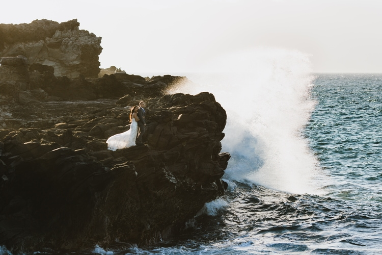 cliffside beach wedding 4