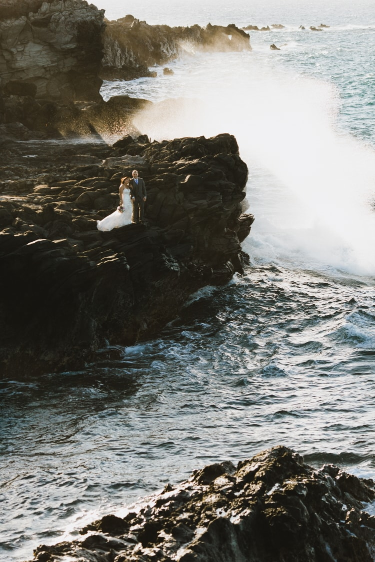 cliffside beach wedding 5