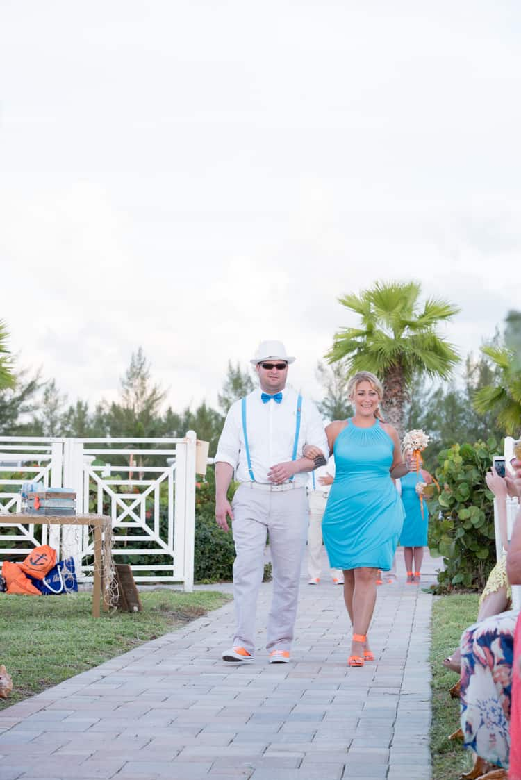 colorful beach wedding in the bahamas 112