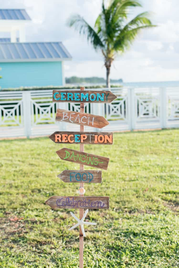 colorful beach wedding in the bahamas 129