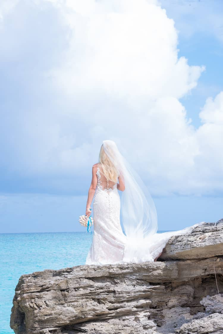 colorful beach wedding in the bahamas 46