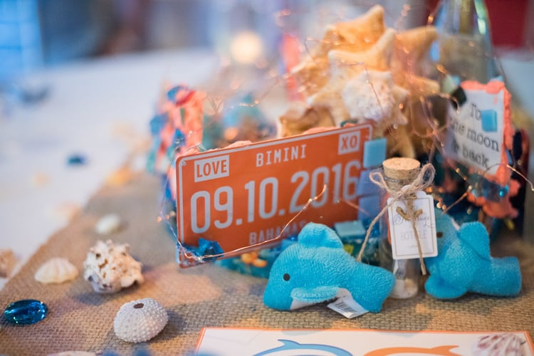 colorful beach wedding in the bahamas 58