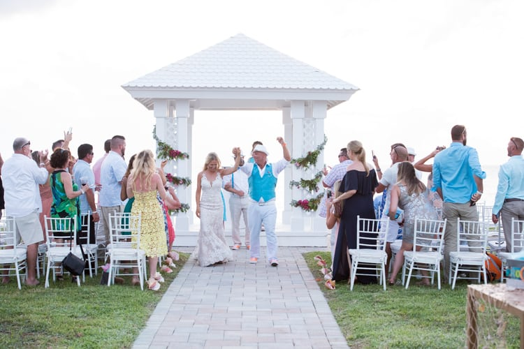 colorful beach wedding in the bahamas 81