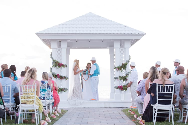 colorful beach wedding in the bahamas 88
