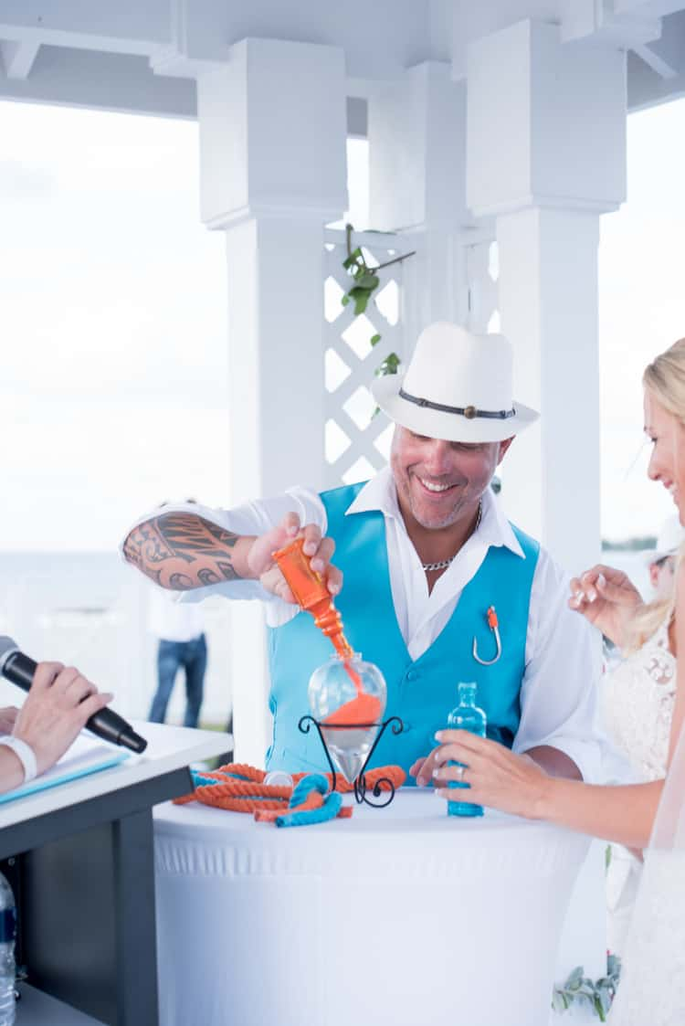 colorful beach wedding in the bahamas 89