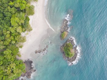 costa rica beach wedding in Manuel Antonio