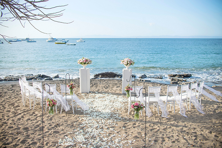 costa rica beach weddings in ocotal