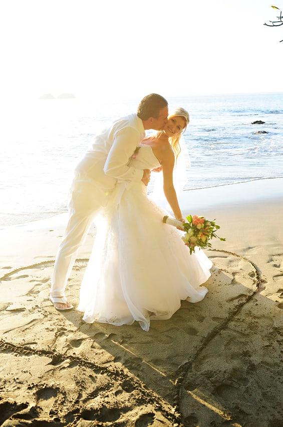 costa rica beach weddings playa hermosa 2