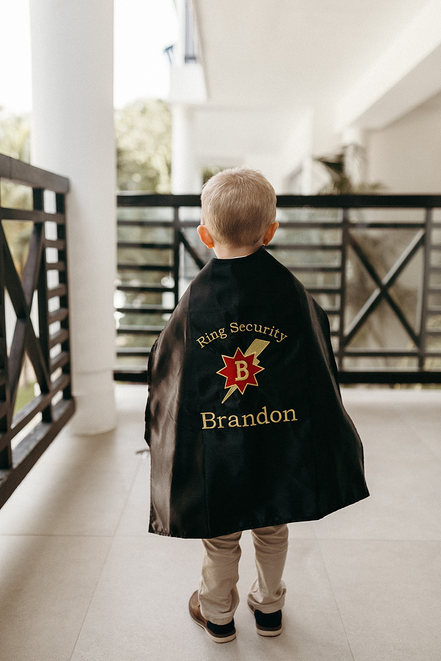 creative destination wedding ideas ring bearer