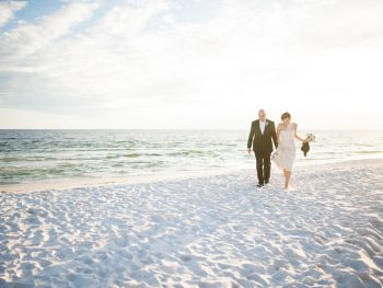 An Intimate & Emotional Destin Beach Wedding
