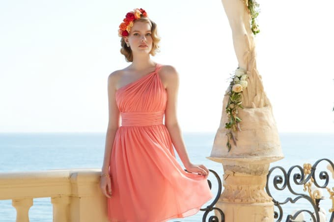Gorgeous Bridesmaid Destination Wedding Dresses in Tropical Colors