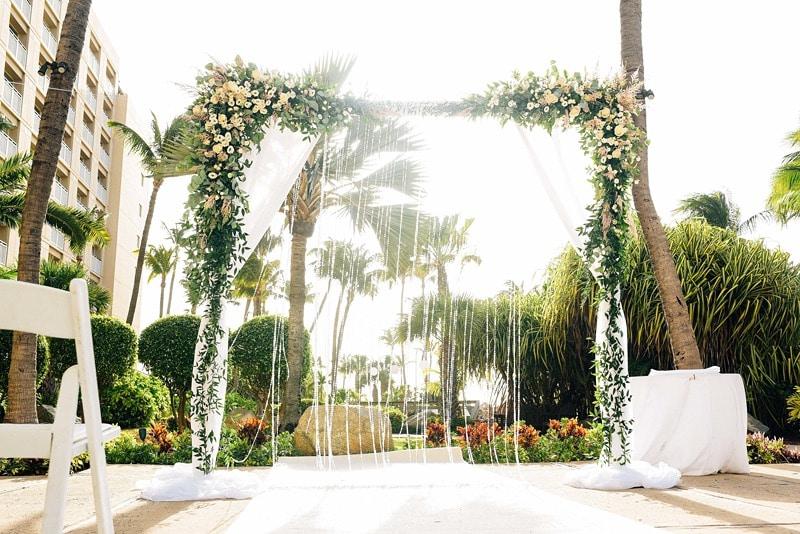 destination wedding Aruba Hyatt Regency 1176