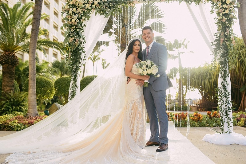 destination wedding Aruba Hyatt Regency 1208