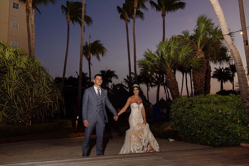 destination wedding Aruba Hyatt Regency 1251