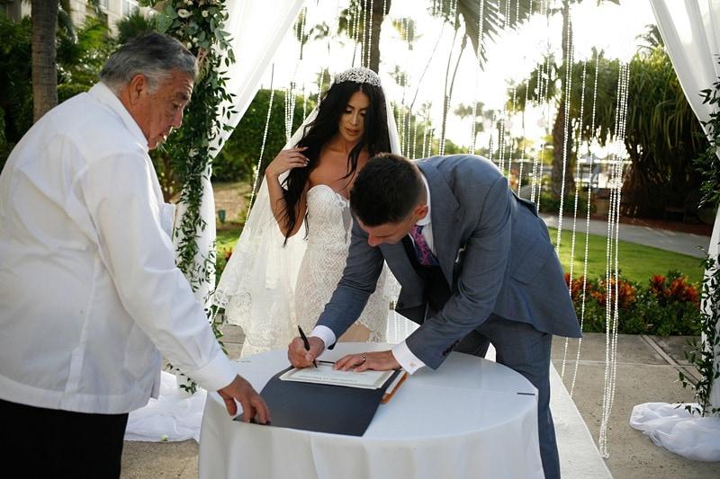 destination wedding Hyatt Regency Aruba 1345