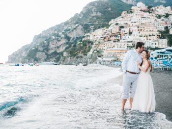 A Romantic Elopement Wedding in Positano, Italy