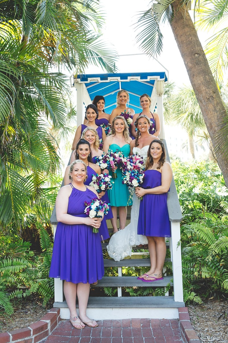 destination wedding Tradewinds Resort St Petersburg 2072