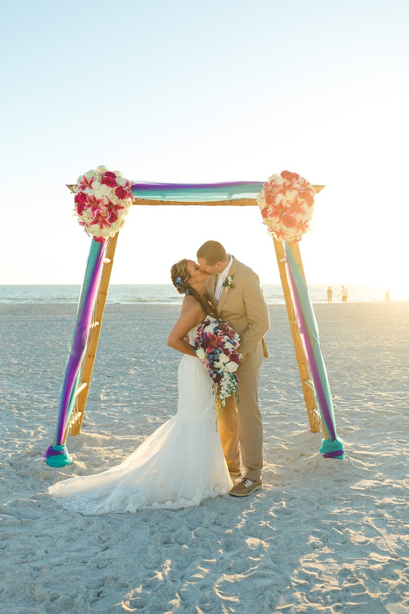 destination wedding Tradewinds Resort St Petersburg 2146