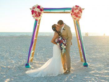 Sunset Destination Wedding at Tradewinds Resort in St Petersburg