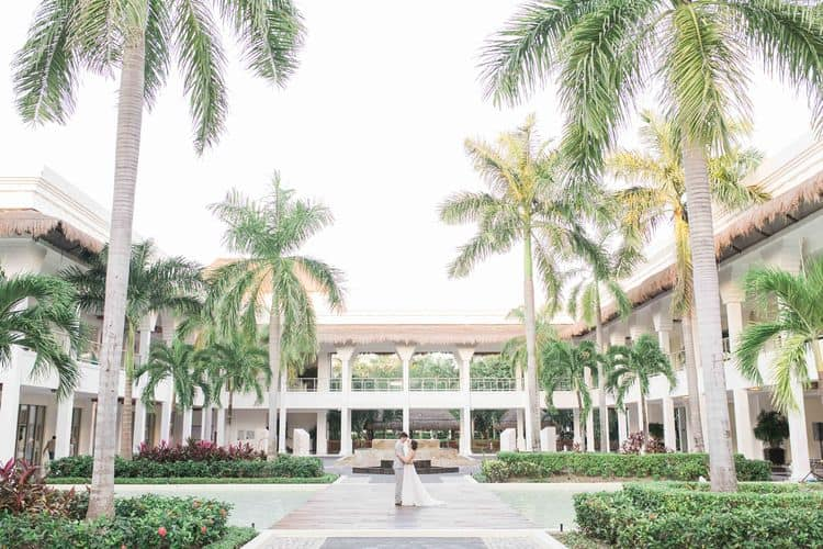 destination wedding at grand sunset princess riviera maya 1