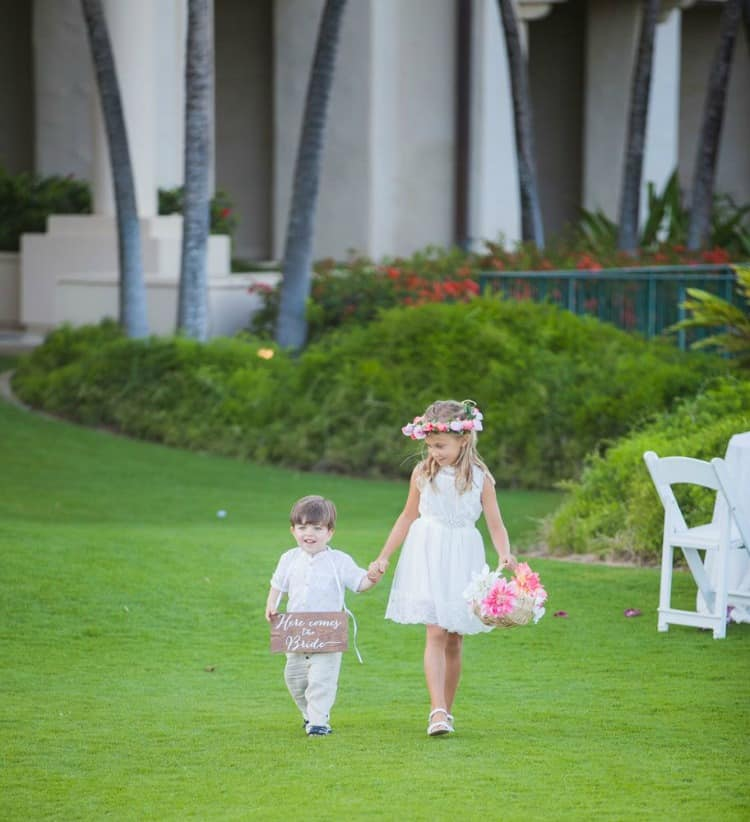destination wedding at the Grand Hyatt Kauai Resort