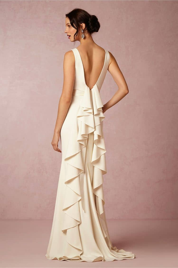 destination wedding dresses valentina back