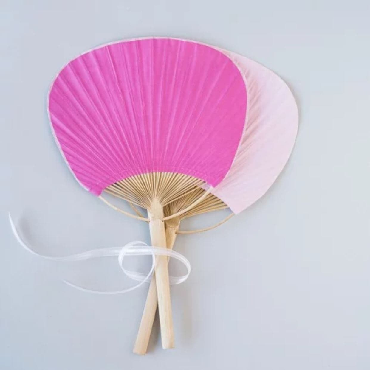 destination wedding favors paddle fans