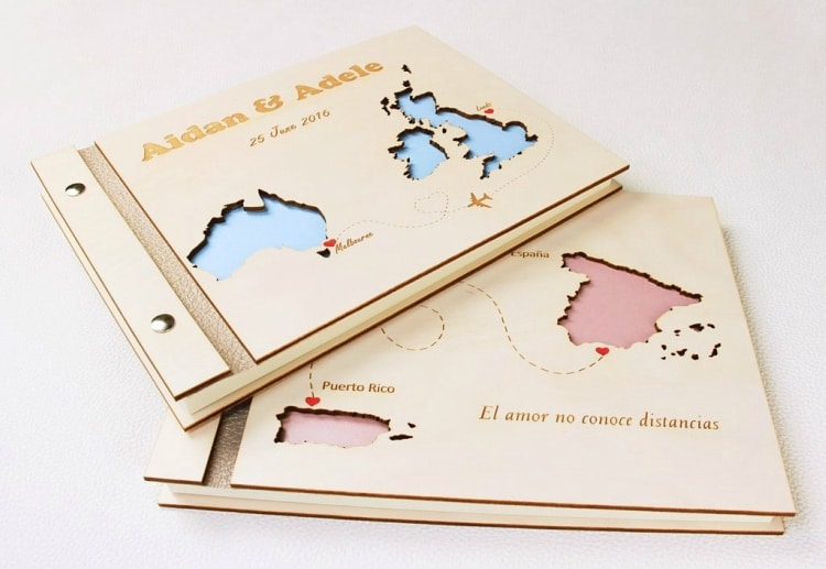 destination wedding guest book alternative ideas 12