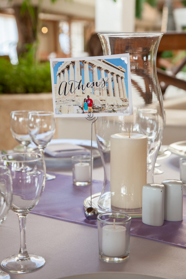 destination wedding ideas table number 1
