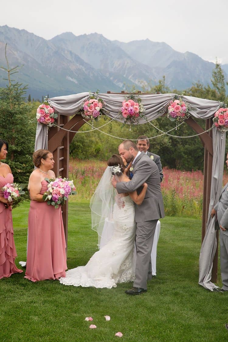 destination wedding in Alaska 17