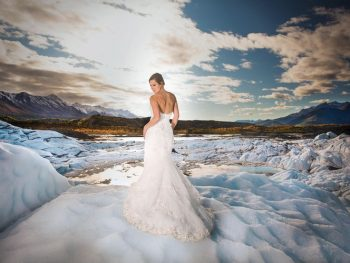 A Stunning Glacier Destination Wedding in Alaska