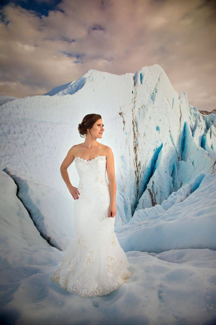 destination wedding in Alaska