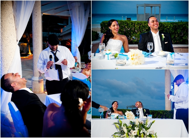 destination wedding in Cancun Sandos gazebo