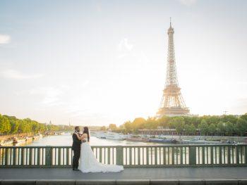 An Elegant River Boat Destination Wedding in Paris with Stunning Views