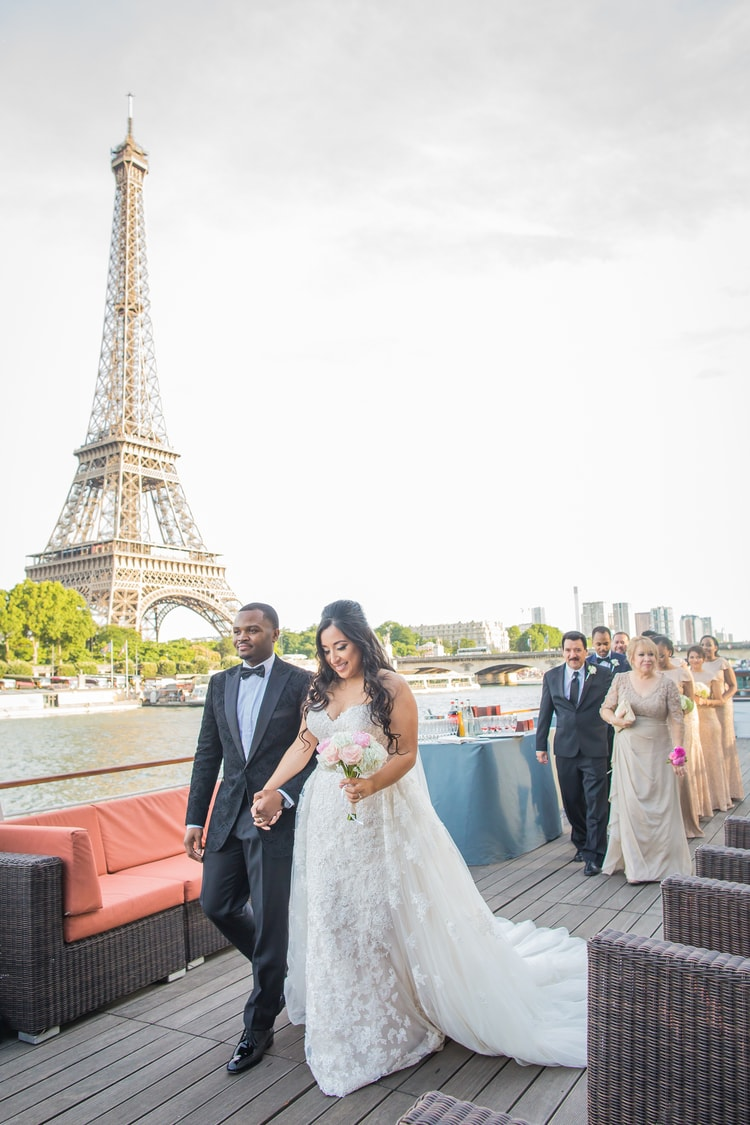 destination wedding in Paris 34