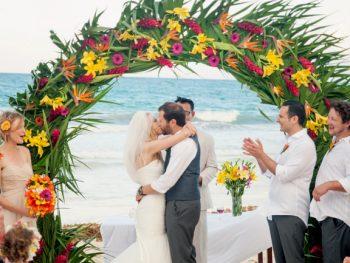 Tropical Destination Wedding in Tulum