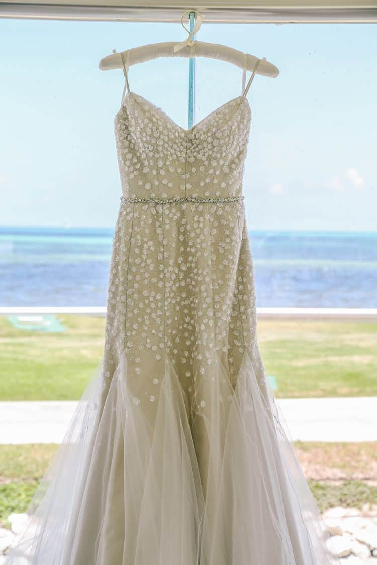 destination wedding bridal gown