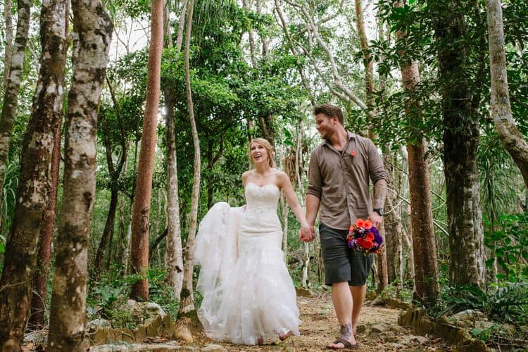destination wedding in tulum cenote 17