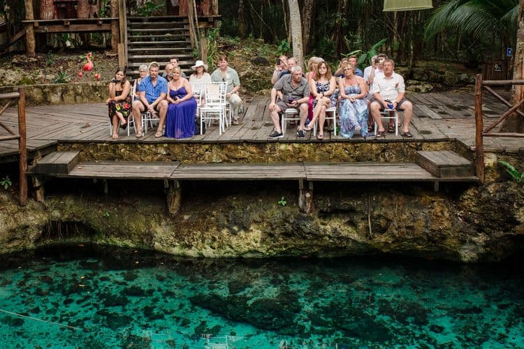 destination wedding in tulum cenote 24