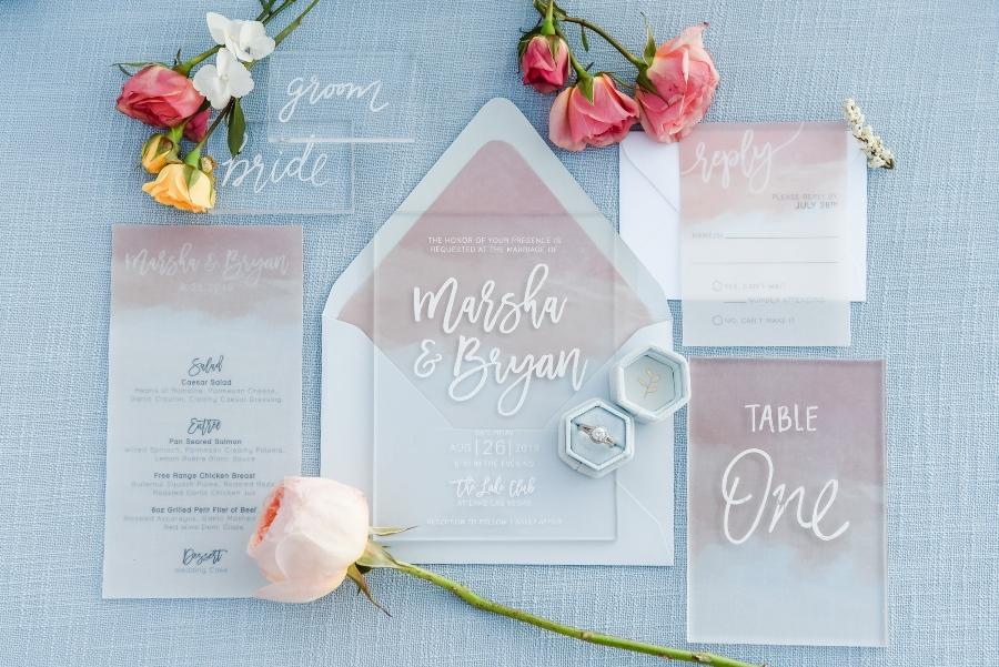destination wedding invitation photography