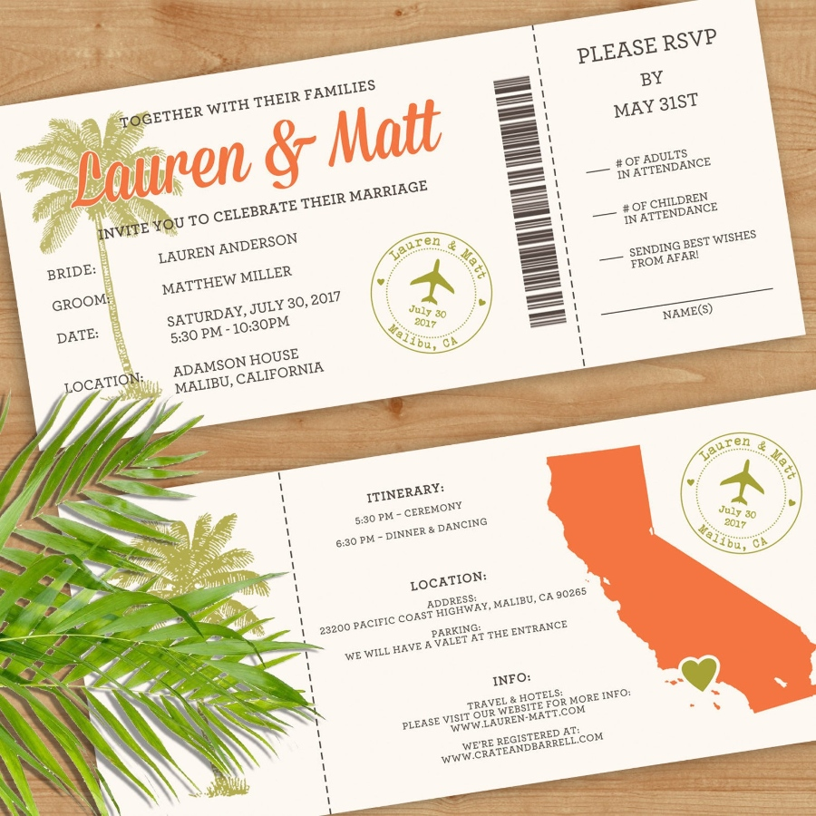 destination wedding invitationi wording example other events
