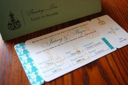 destination wedding invitation ideas