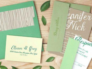 Customizable Destination Wedding Invitations