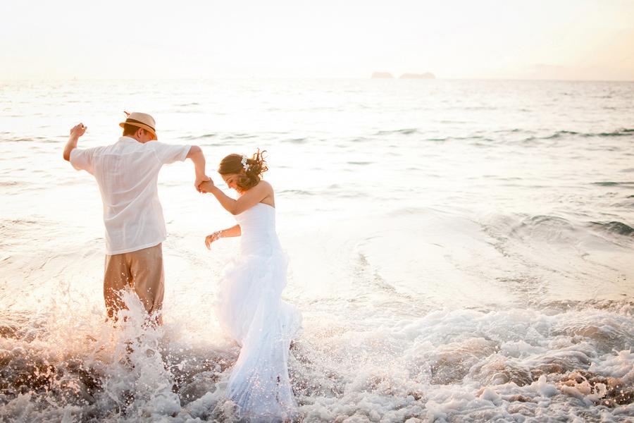 destination wedding photography trash the dress